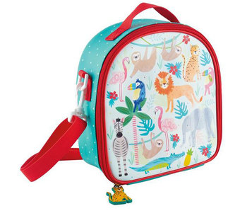 Floss & Rock cooler bag Jungle 22 x 22 x 9 cm