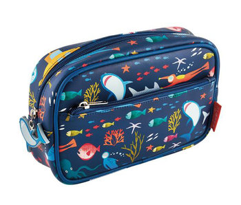 Floss & Rock trousse de toilette Ocean 23 x 16 x 6 cm