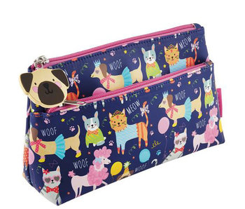 Floss & Rock trousse de toilette Animaux 22 x 13 x 6