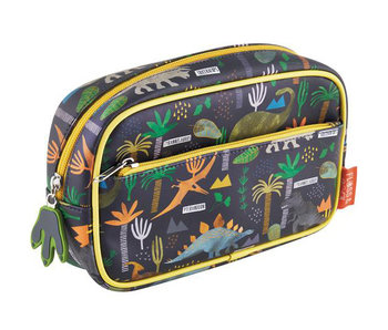 Floss & Rock Dinosaur toilet bag 23 x 16 x 6 cm