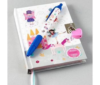 Floss & Rock Dagboek Unicorn inclusief slot en geurpen