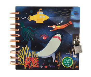 Floss & Rock Journal Ocean including lock