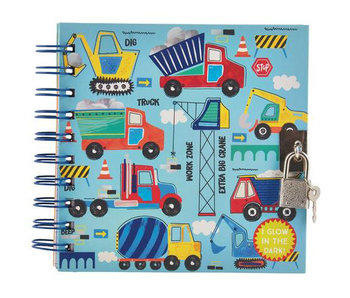 Floss & Rock Diary Build glow in the dark including lock