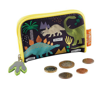 Floss & Rock Wallet Dinosaur 12x8 cm