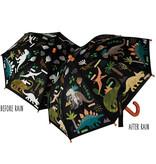 Floss & Rock Dinosaurier - magischer Farbwechselregenschirm - Multi