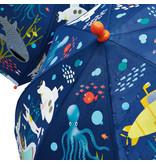 Floss & Rock Oceaan - magische kleur veranderende paraplu - Multi