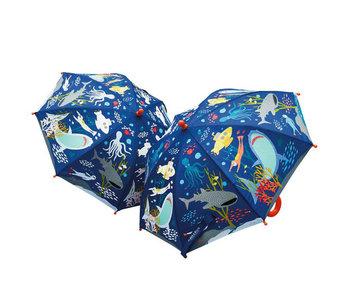 Floss & Rock Océan au parapluie magique qui change de couleur