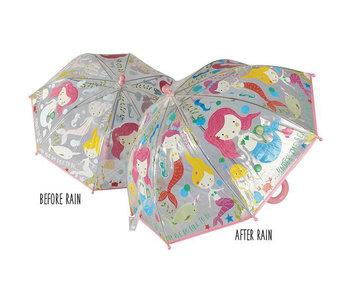 Floss & Rock Kleur veranderende magische paraplu Zeemeermin