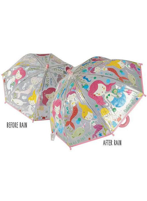 Floss & Rock Color changing magic umbrella Mermaid