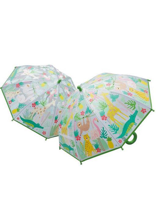 Floss & Rock Color changing magic umbrella Jungle