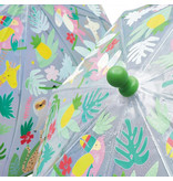 Floss & Rock Jungle - magische kleur veranderende paraplu - Multi