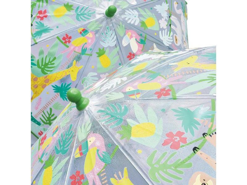 Floss & Rock Jungle - magic color changing umbrella - Multi