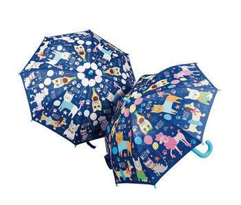 Floss & Rock Parapluie magique aux couleurs changeantes