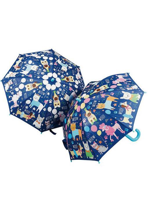 Floss & Rock Color changing magic umbrella Pets