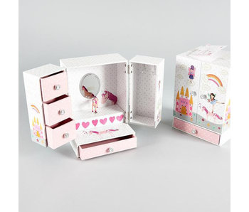 Floss & Rock Fairy & Unicorn - Music / Jewelry box - 21 x 15 x 12 cm