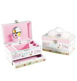 Floss & Rock Princess Feather - jewelry / music box - 18 cm - Multi