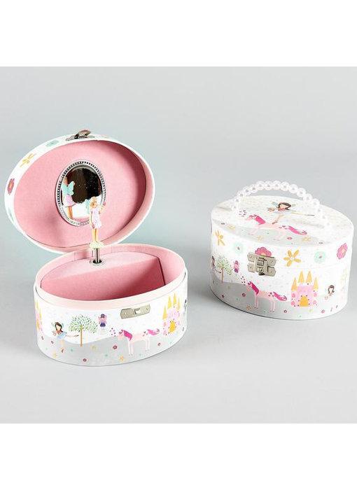 Floss & Rock Fairy & Unicorn - Music / Jewelry box - 8.5 x 15.5 x 12 cm