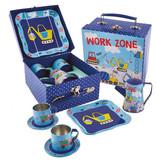 Floss & Rock Aufbau - Zinn Tee-Set - 7-teilig - Multi