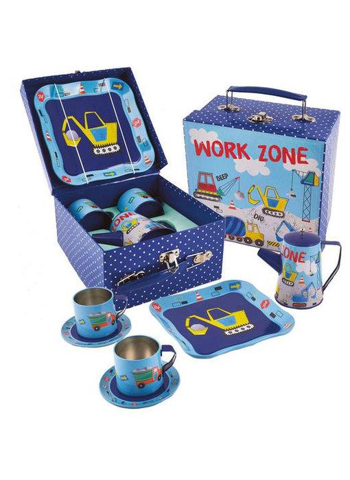 Floss & Rock Zinn Tee-Set  Baue 7 Teile