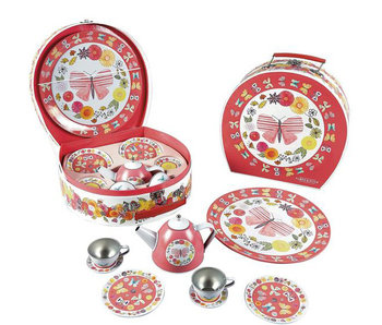Floss & Rock tea service butterfly 9-piece