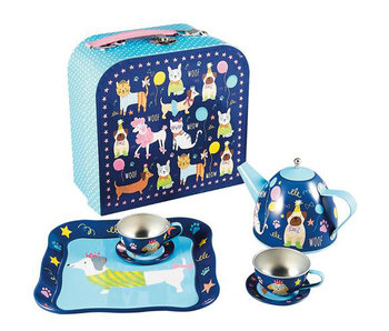 Floss & Rock tea service Pets 7-part