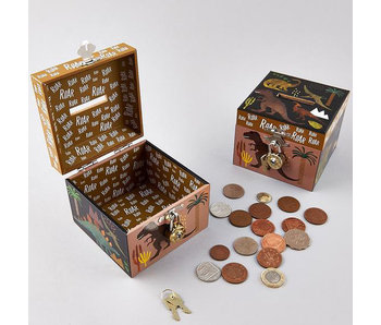 Floss & Rock Money box Dinosaur with lock