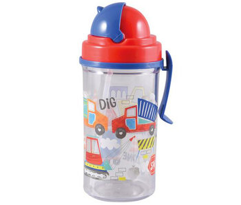 Floss & Rock Drinkfles Bouw 350ml