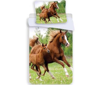 Animal Pictures Dekbedovertek Paard & Veulen 140x200 cm