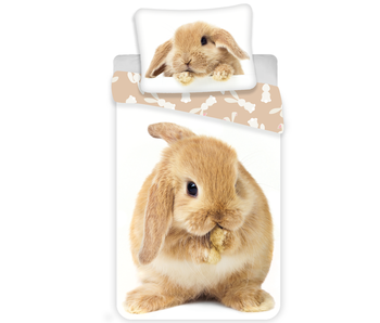 Animal Pictures Bettbezug Kaninchen 140x200 cm