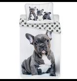 Animal Pictures Bulldog - Housse de couette - Seul - 140 x 200 cm - Multi
