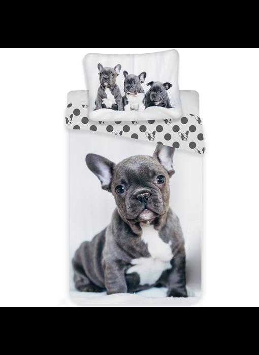 Animal Pictures Duvet cover Bulldog 140x200 cm