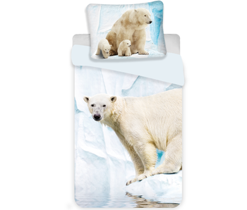 Animal Pictures Duvet cover Polar bear 140x200 cm