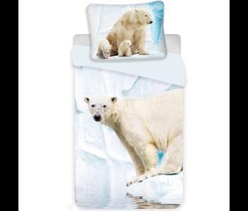 Animal Pictures Housse de couette Ours blanc 140x200 cm
