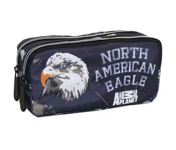 Animal Planet Eagle - pencil case - 20 x 9 x 6 cm