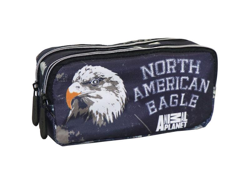 Animal Planet Eagle - pencil case - 20 x 9 cm - Multi