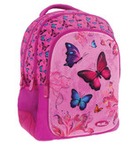 Must Butterfly - 3D backpack - 43 cm - Pink