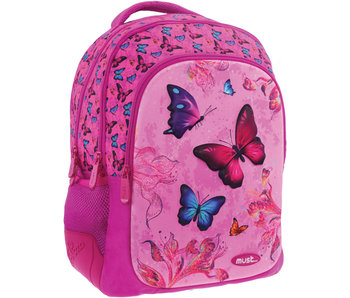 Must Butterfly - 3D backpack - 43 x 32 x 18 cm