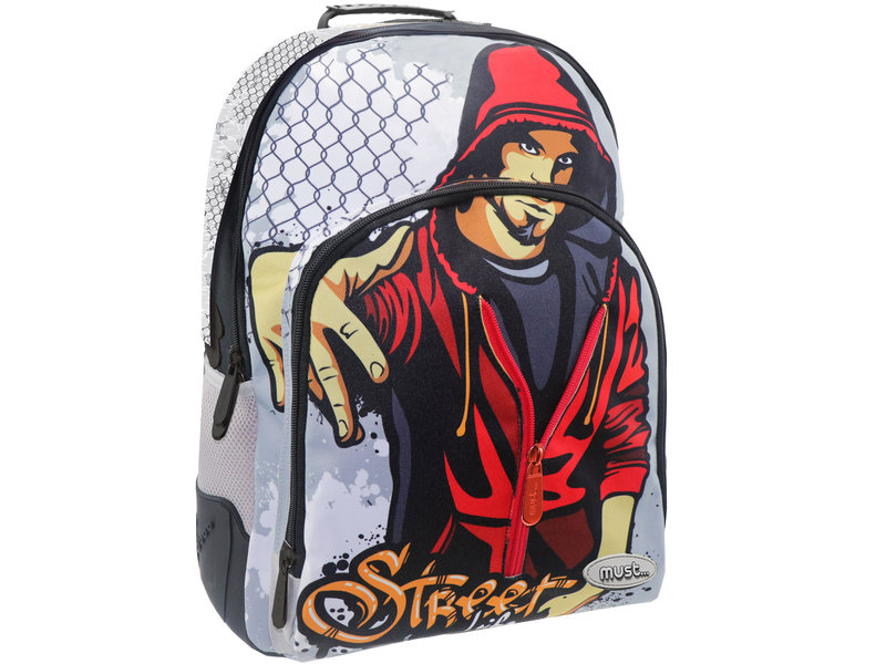Must Street life - backpack - 45 cm - Multi