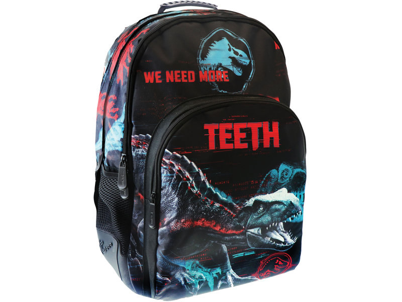 Jurassic World Teeth - rugzak - 45 cm - Multi