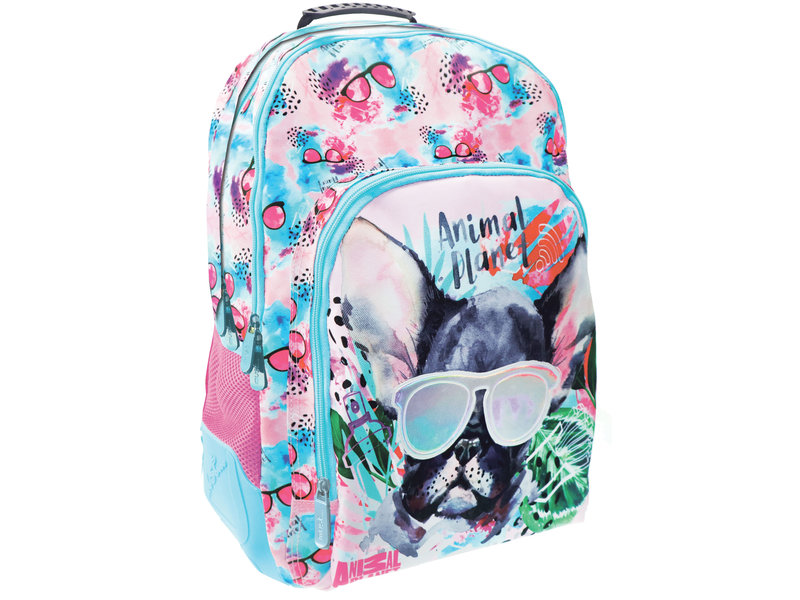 Animal Planet Rock style dog - backpack - 45 cm - Multi