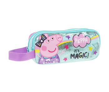 Peppa Pig Magic pencil case - 22 x 10 x 7 cm