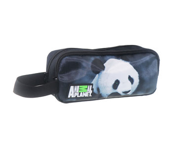Animal Planet Panda pencil case 22 x 10 x 7 cm