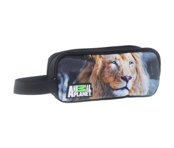 Animal Planet Lion pencil case 22 x 10 x 7 cm