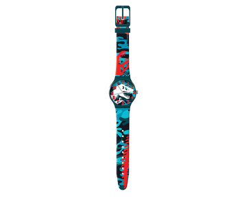 Jurassic World watch in tin