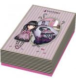 Santoro London  Gorjuss Candy - Dekbedovertrek - Eenpersoons - 140 x 200 cm - Multi