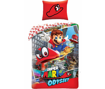 Nintendo Duvet cover Mario Odyssey 140x200 + 70x90cm