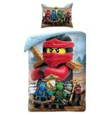 Lego Ninjago Red - Dekbedovertrek - Eenpersoons - 140 x 200 cm - Multi
