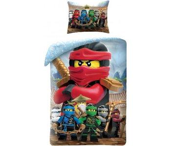 Lego Ninjago Housse de couette Rouge 140x200 + 70x90cm