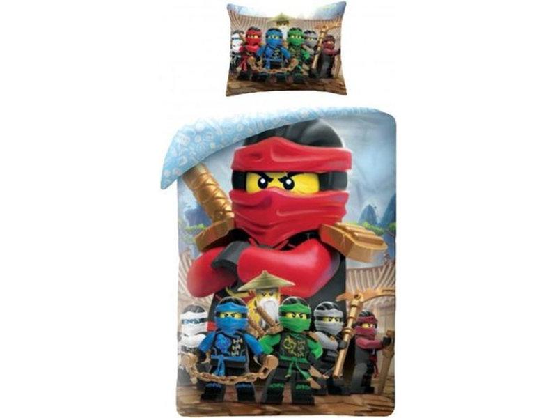 Lego Ninjago Red - Duvet cover - Single - 140 x 200 cm - Multi