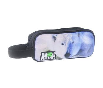 Animal Planet Trousse ours polaire 22 x 10 x 7 cm